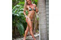 Ashleigh Gass – Full Body Military Bikini