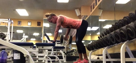 DB Bent Over Rows