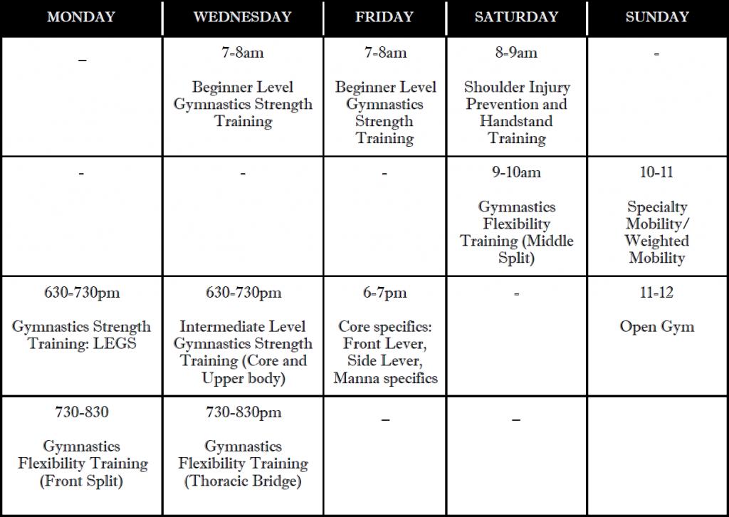 Aug-SLICE-schedule