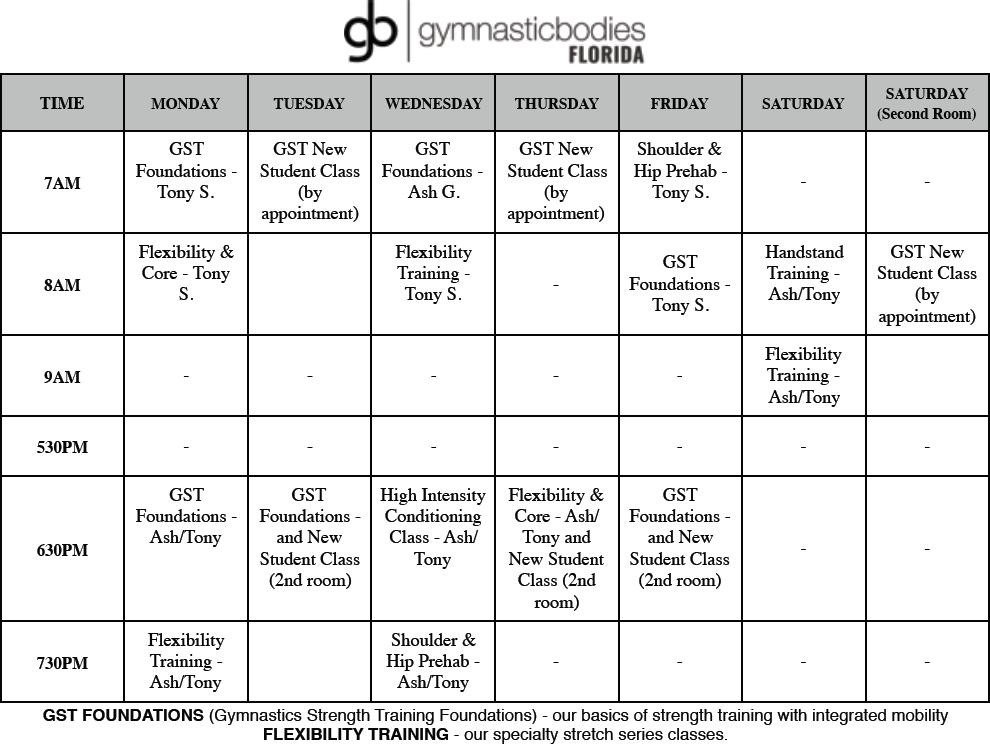 GB-ClassSchedule